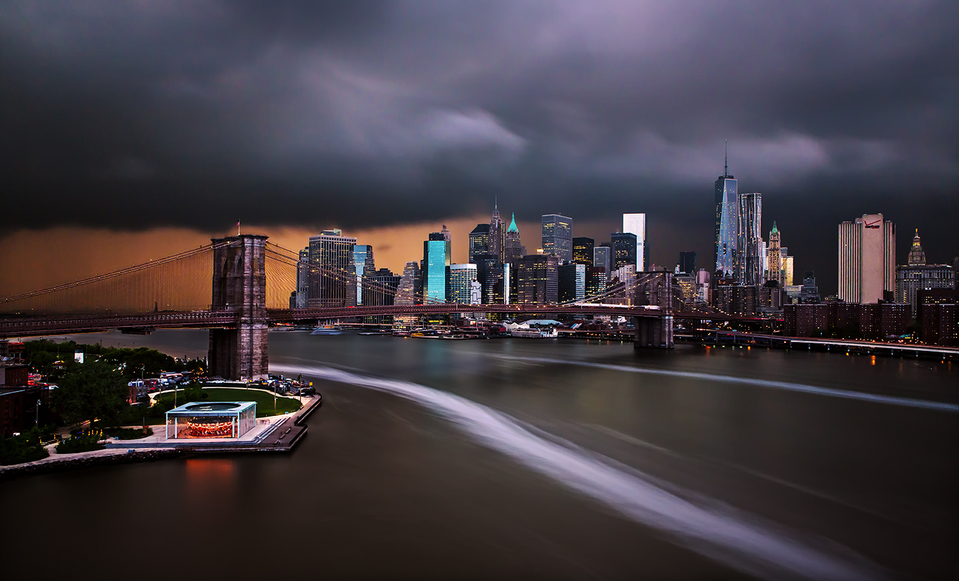Storm Front over Manhattan