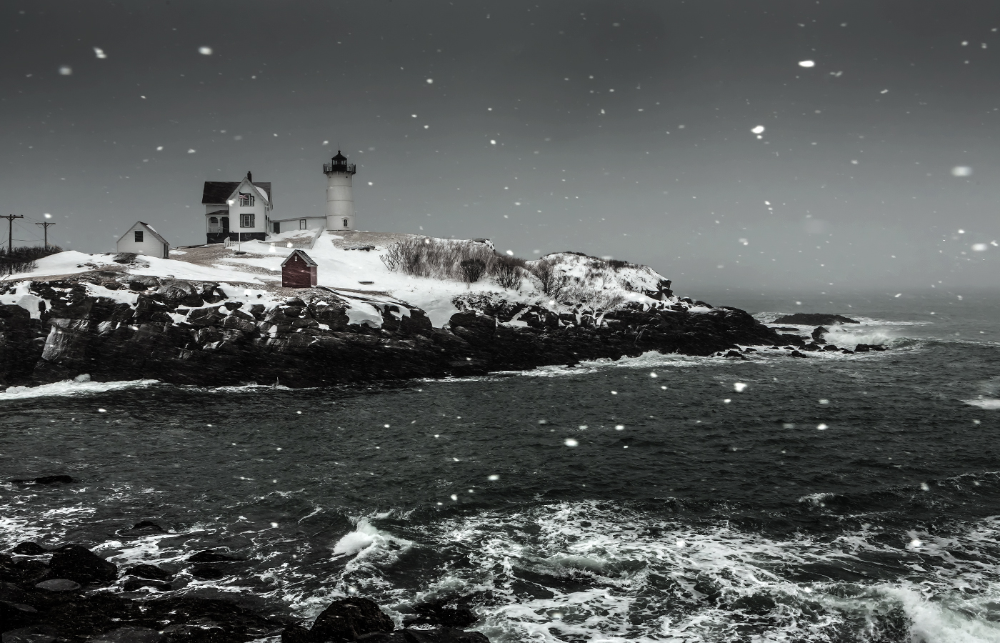 Snow at Nubble