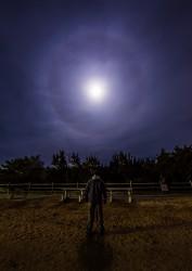 Moon Halo at Barnegat, NJ
