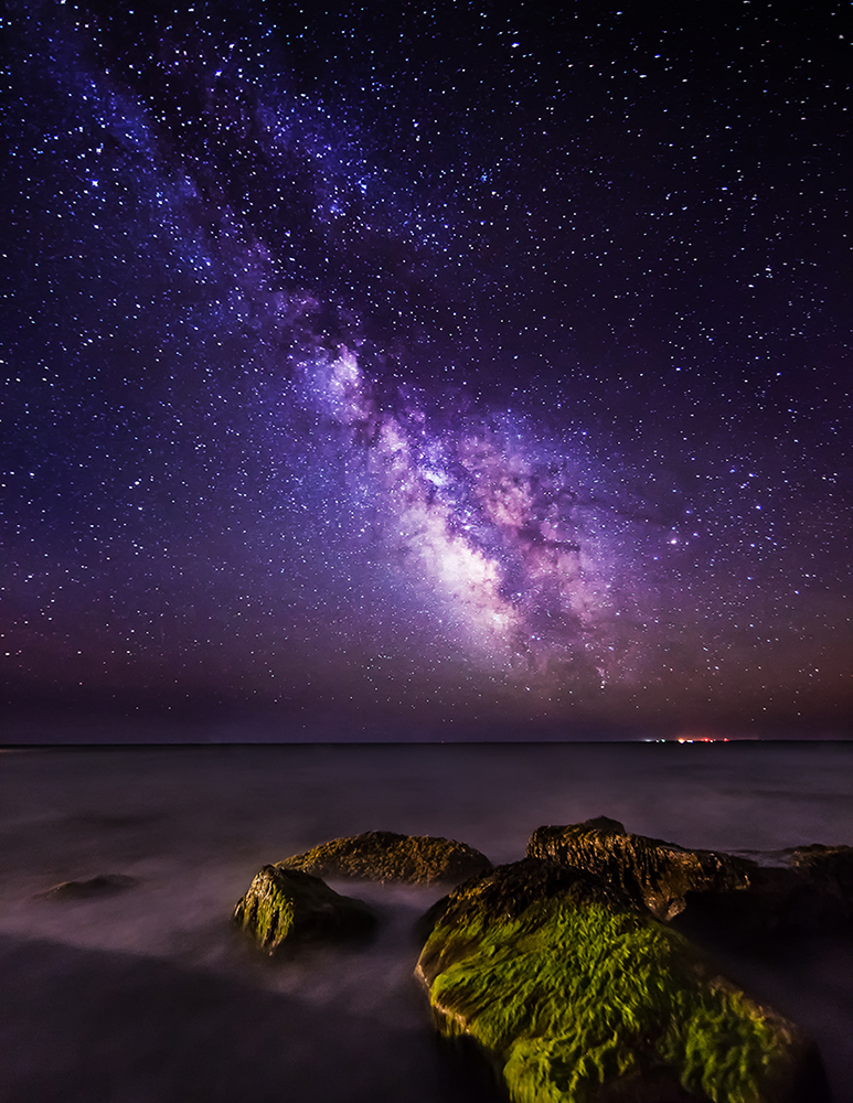 how to add milky way to photos